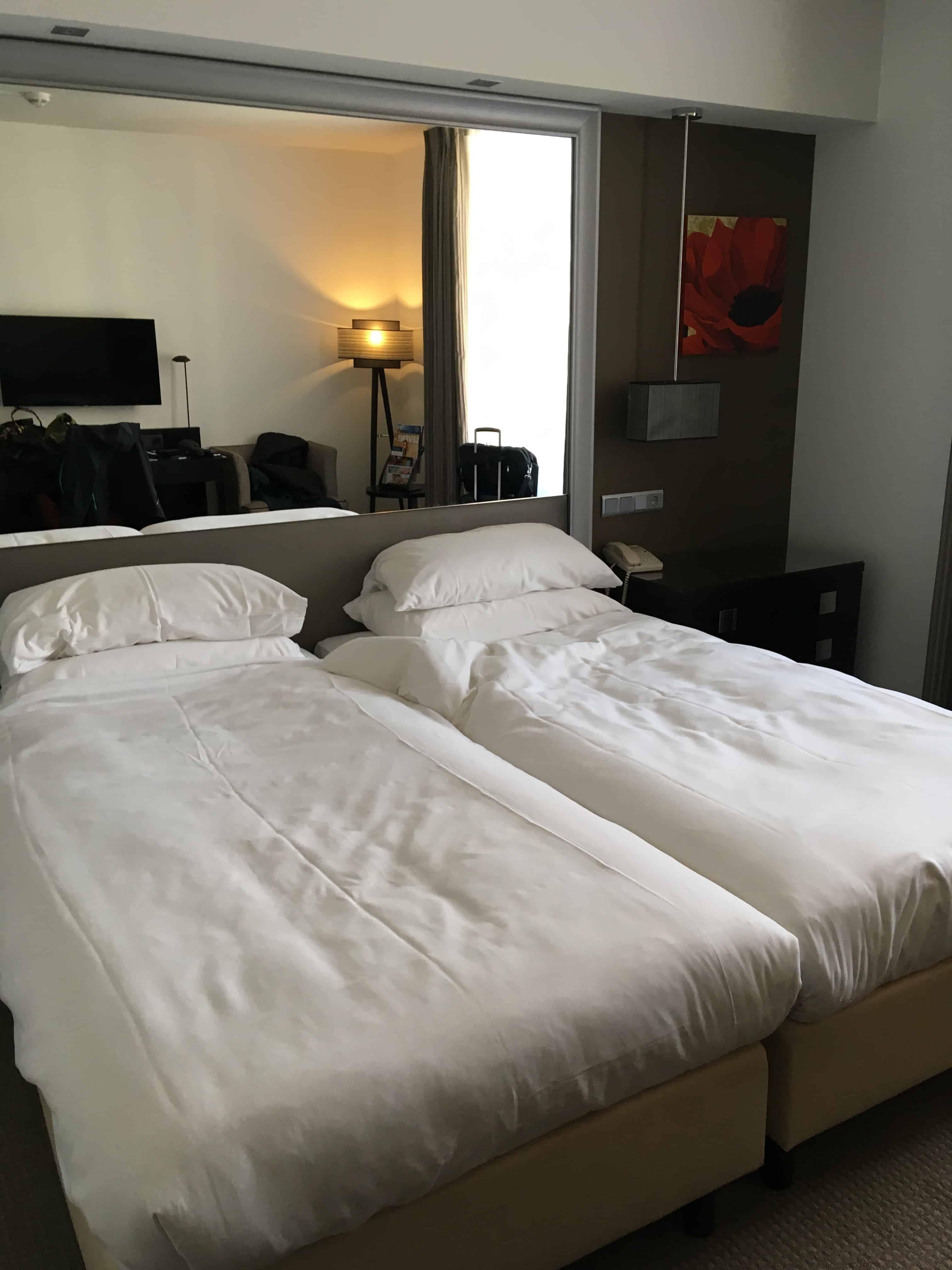Vores hotelværelse på The Kurhaus