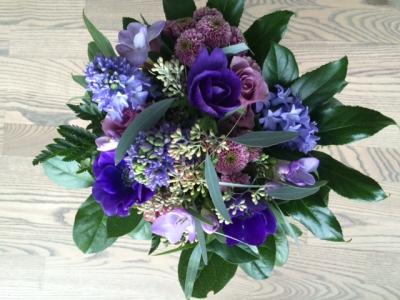 Blomster fra mine kolleger
