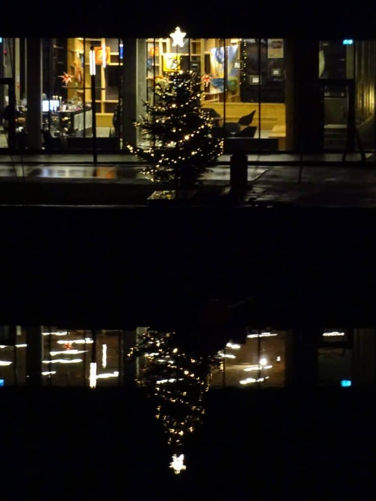 Juletræ ved Nordatlatisk Hus