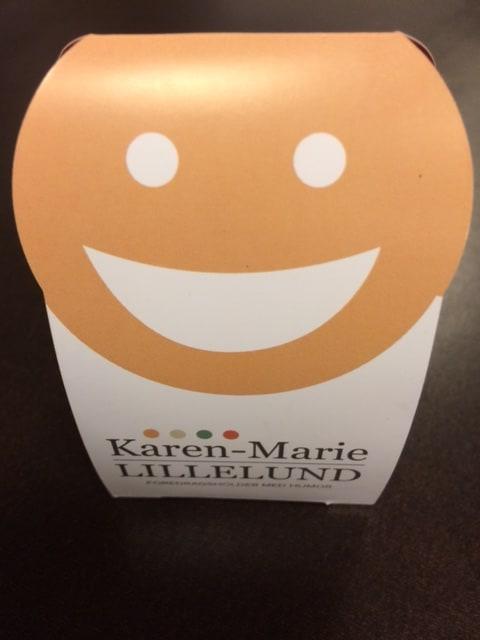 Karen Marie Lillelund happy face