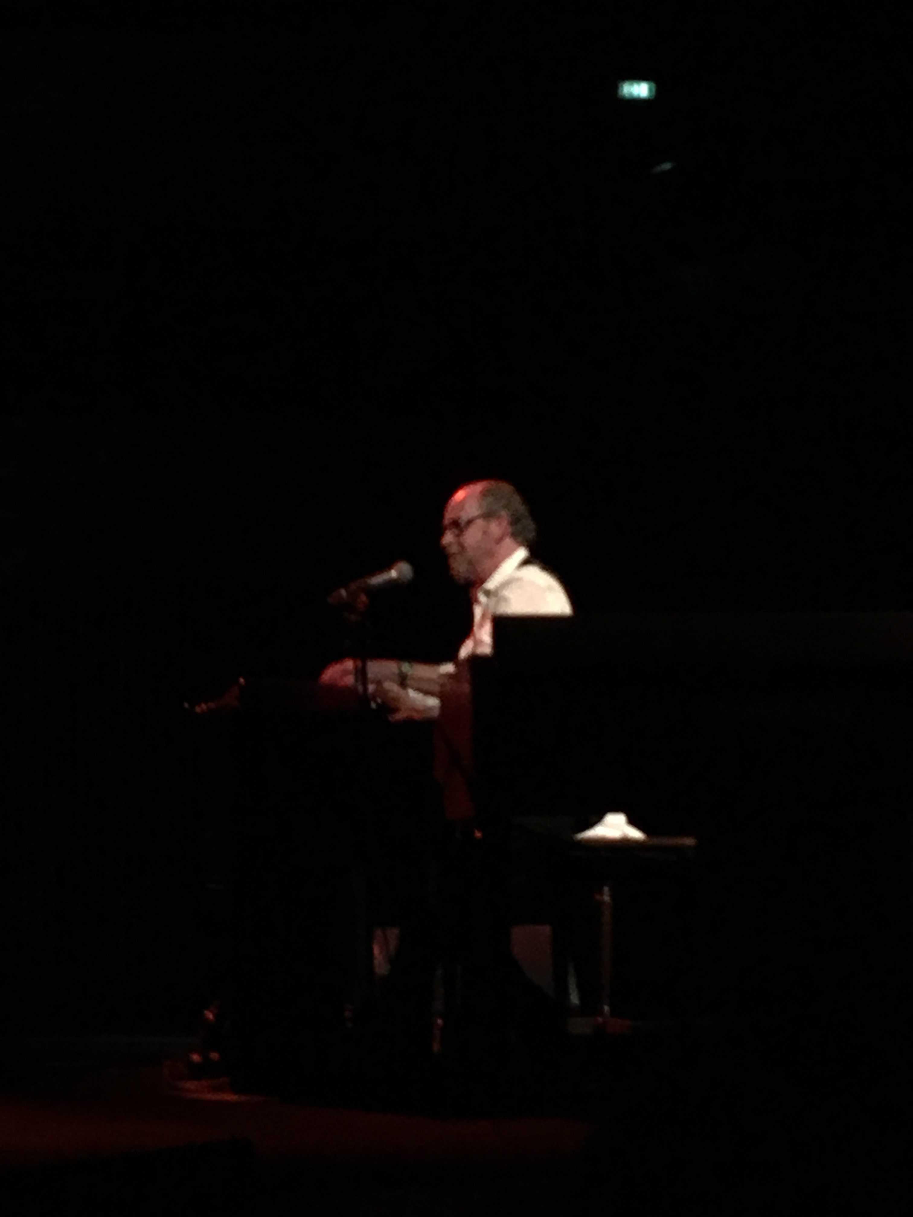 Keyboardspiller Pete Repete aka Sørensen