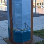 Kunst på affaldsstativ