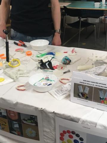 Moderne modeler-voks - AnyShape - på Makercityfestivalen