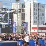 NBA basket på havnepladsen