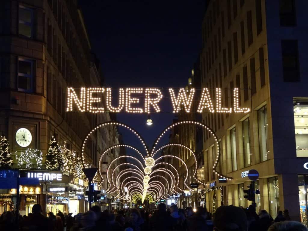 Juleudsmykning Neuer Wall