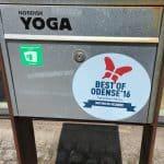 Nordisk Yoga vandt Best of Odense prisen i 2016