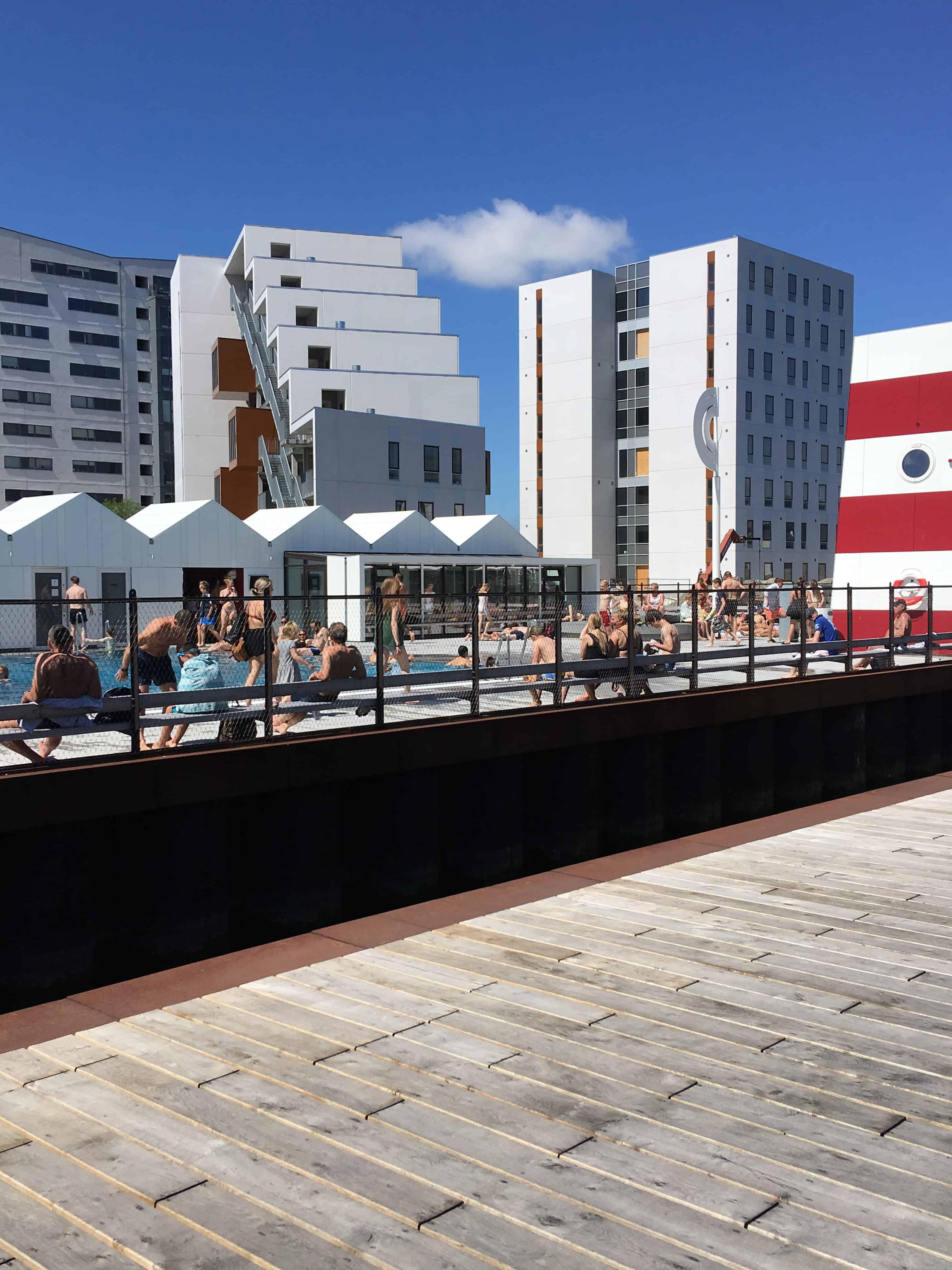 Odense havnebad har mange gæster