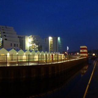 Odense havnebad set fra enden