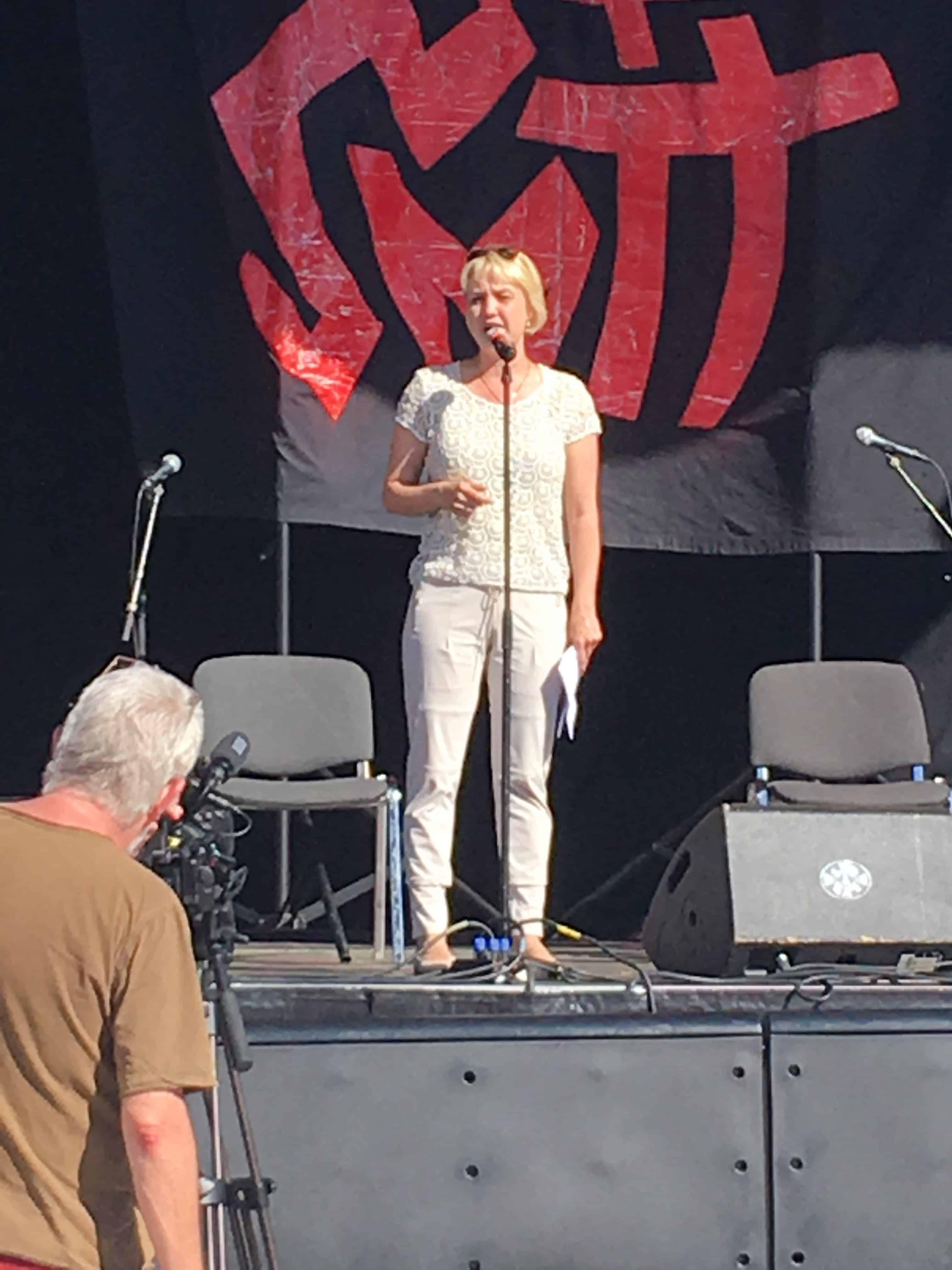 Rådmand Jane Jegind åbner havneulturfestivalen