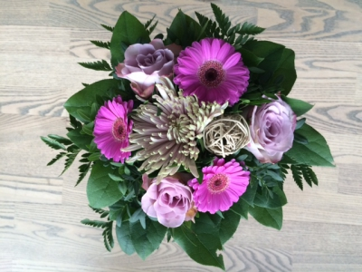 Blomster fra Sanne og Bo