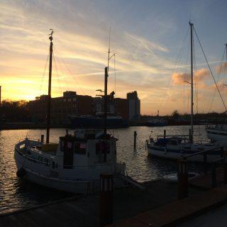 Solnedgang 15 marts