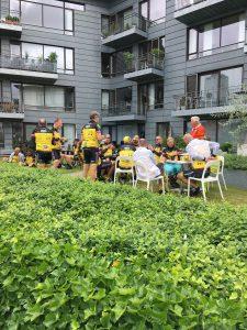 Besøg af Team Rynkeby Odense