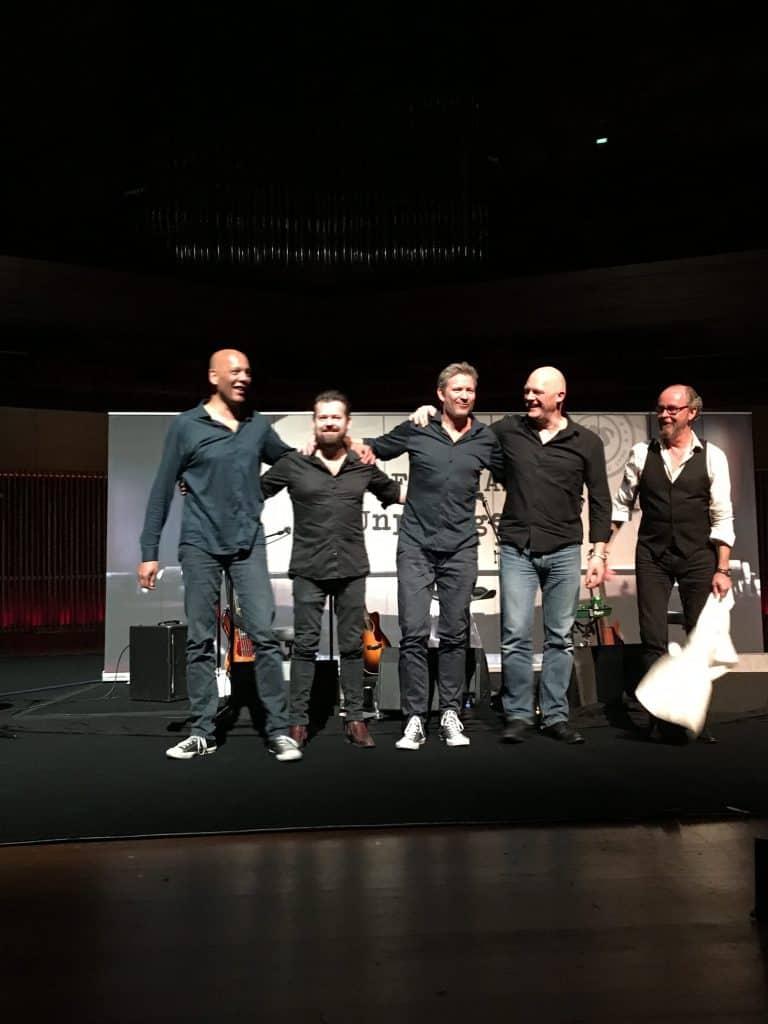 De hyggede sig på scenen og det gjorde vi også!