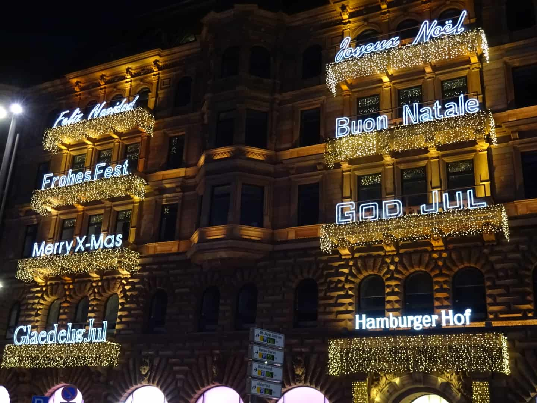 Hamburger Hof ønsker god jul