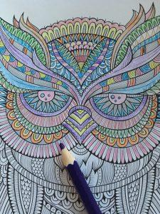 Mindful coloring gi'r mig ro i hovedet