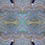 Uglen bliver til flotte mønstre