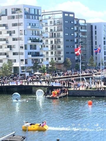 Vandbobler og cykelbåde