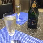 Champagnen på en tirsdag