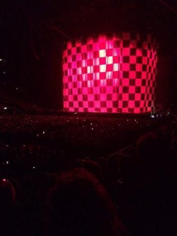 Vi venter på Rod Stewart går på scenen
