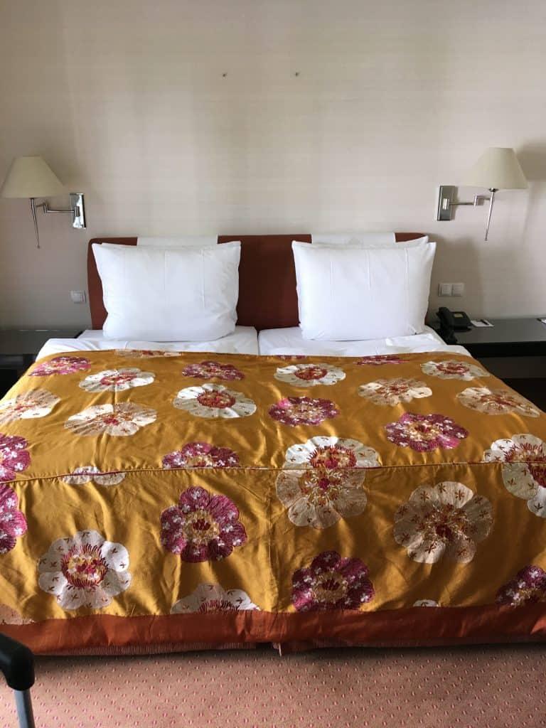 Vores værelse på Dorint Park hotel