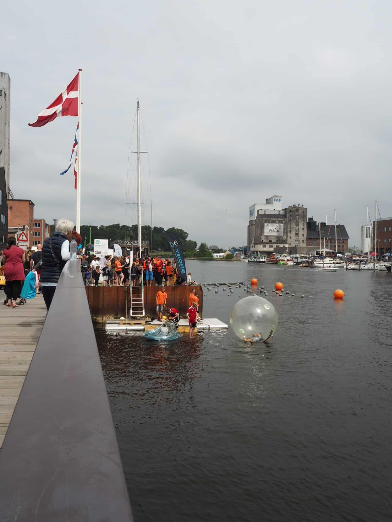Water balls var populære