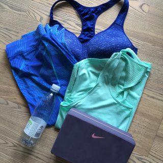 Yogatasken er pakket