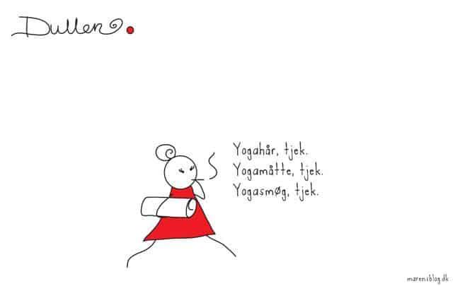 Klar til yoga - af Maren Uthaug
