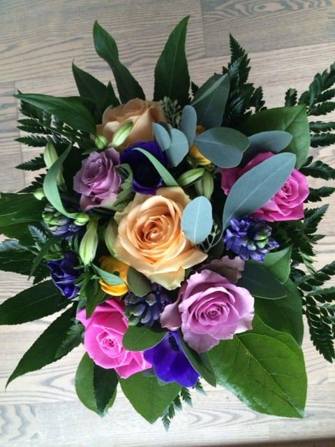 Blomster fra Birgit og Valdemar