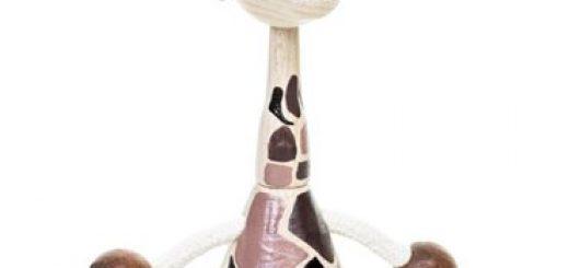 Vores nye giraf