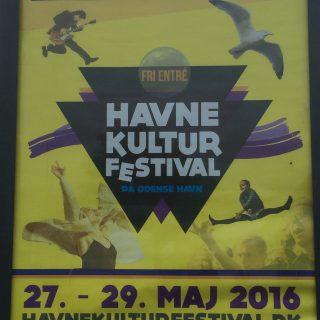 Plakat Odense havnekulturfestival