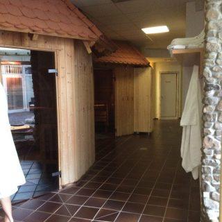 sauna området