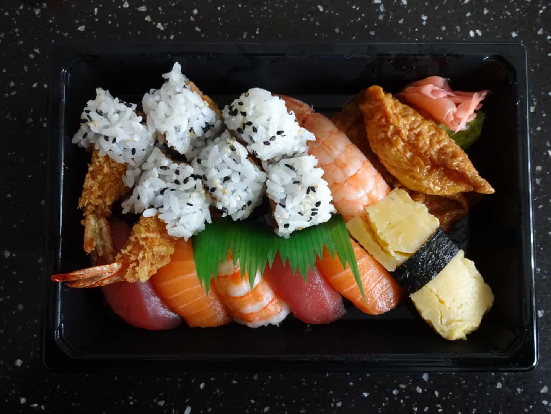 Menu Combo D fra fra Yumi Sushi